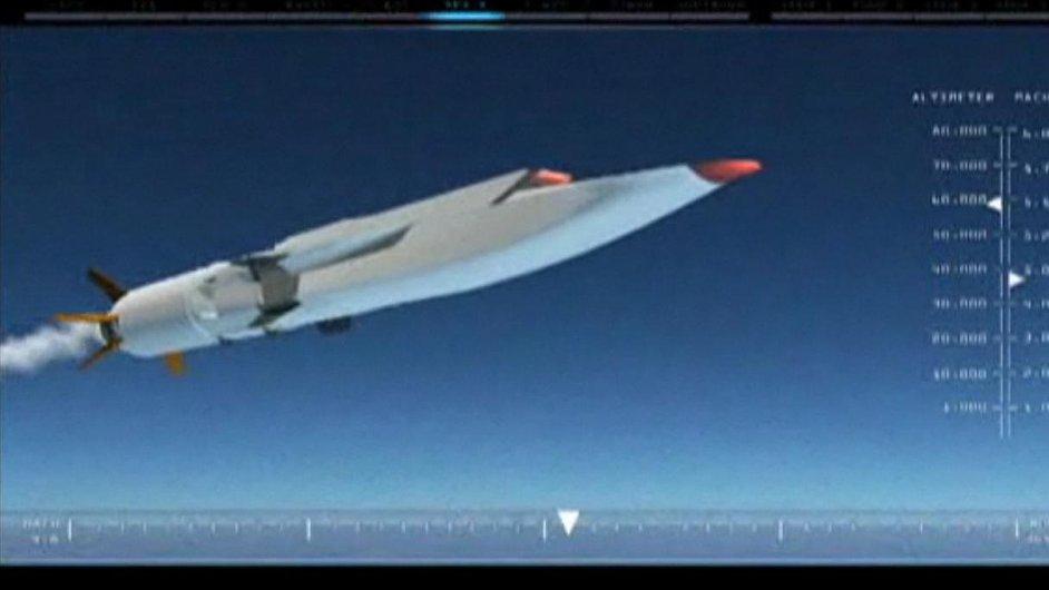 Americký letoun X-51A Waverider.