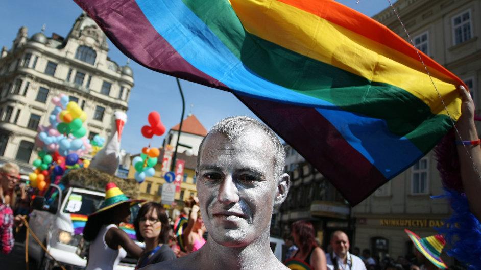 Protesty za práva gayů, ilustrační foto