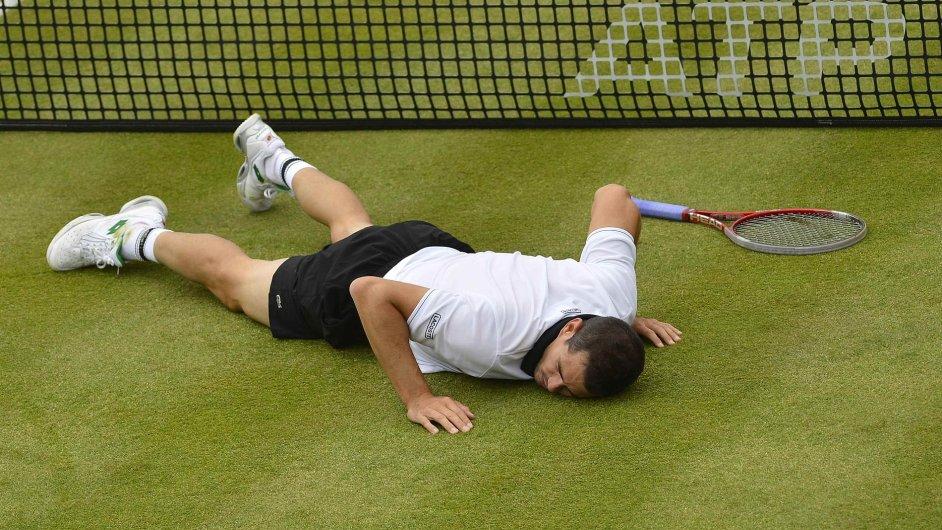 Tenis na trávě (ilustrační foto)