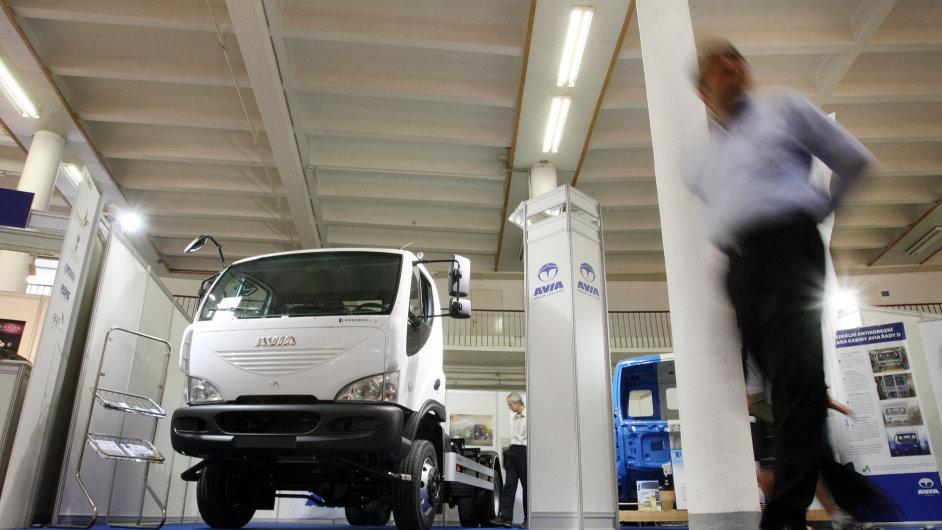 Výrobce nákladních vozů Avia mění majitele (ilustrační foto).