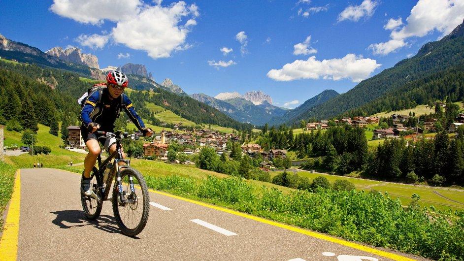 Cyklistický projekt Dolomiti Lagorai Bike má neuvěřitelných 1100 km.