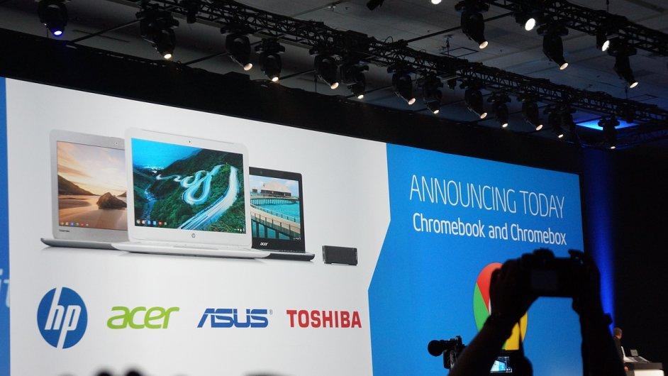 Nové Chromebooky z IDF