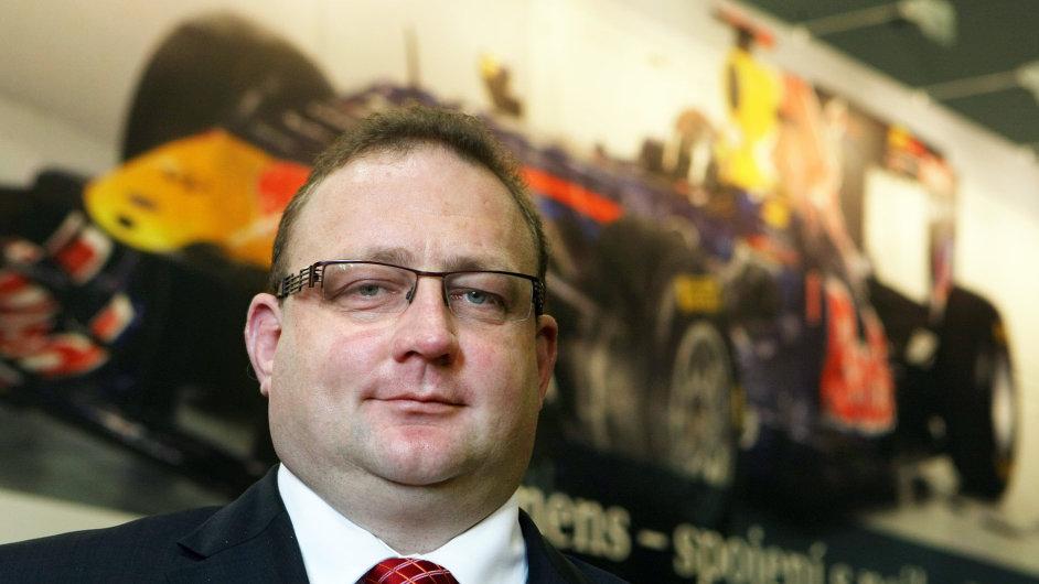 Bohumil Brodský, ředitel Divize Automatizace a pohony společnosti Siemens na MSV v Brně 2013