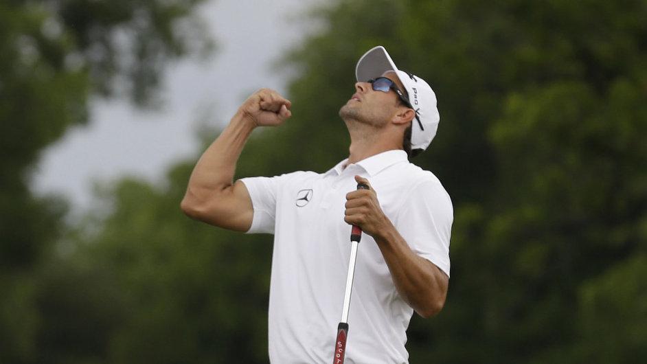Australan Adam Scott vyhrál turnaj PGA ve Fort Worthu.