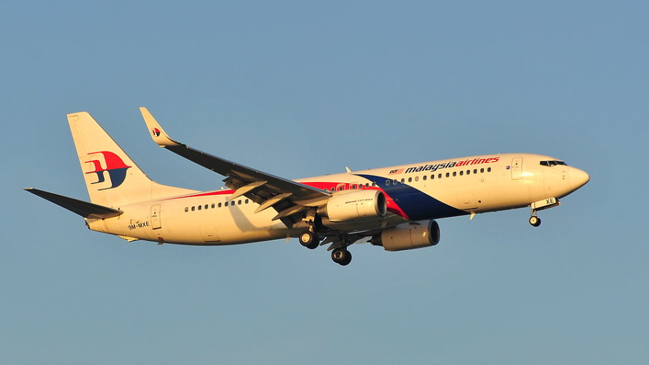 Letadlo Malaysia Airlines.