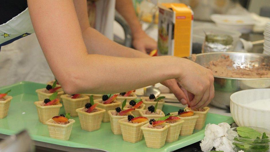 Kuchařský tým Gymnázia Zlín