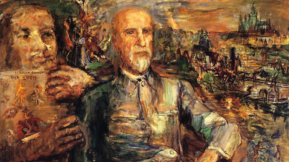 Ústředním bodem Kokoschkovy výstavy bude portrét Tomáše Garrigua Masaryka.
