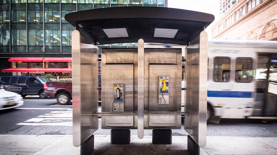 Newyorské telefonní budky se zakrátko stanou minulostí