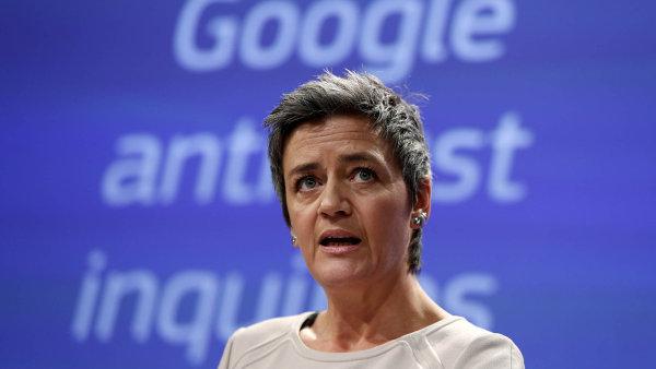 Evropský boj s americkým vyhledávačem dostala na starost dánská eurokomisařka Margrethe Vestagerová.