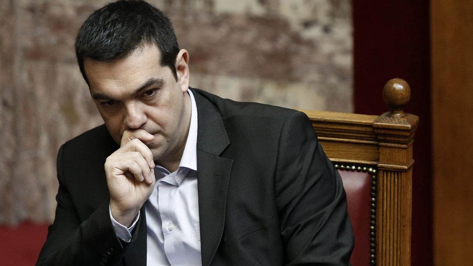Tvrdohlavé Řecko: Peníze si ohlídáme sami, cizinci nám nebudou psát naše zákony, hlásí důrazně premiér Tsipras.