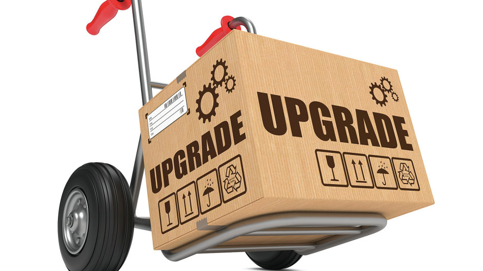 Upgrade – ilustrace