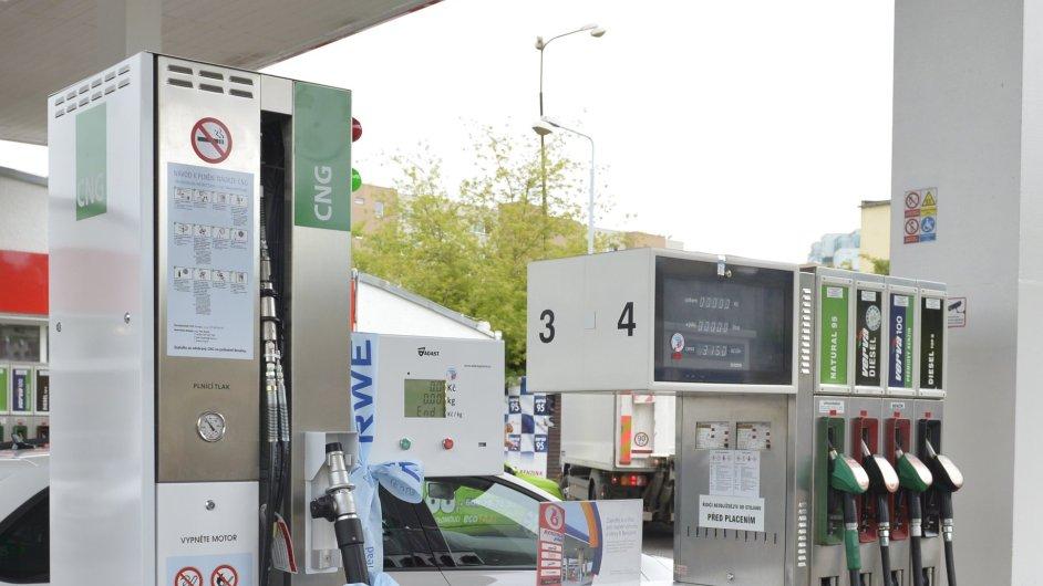 RWE otevřela v Olomouci svoji 11. CNG plničku