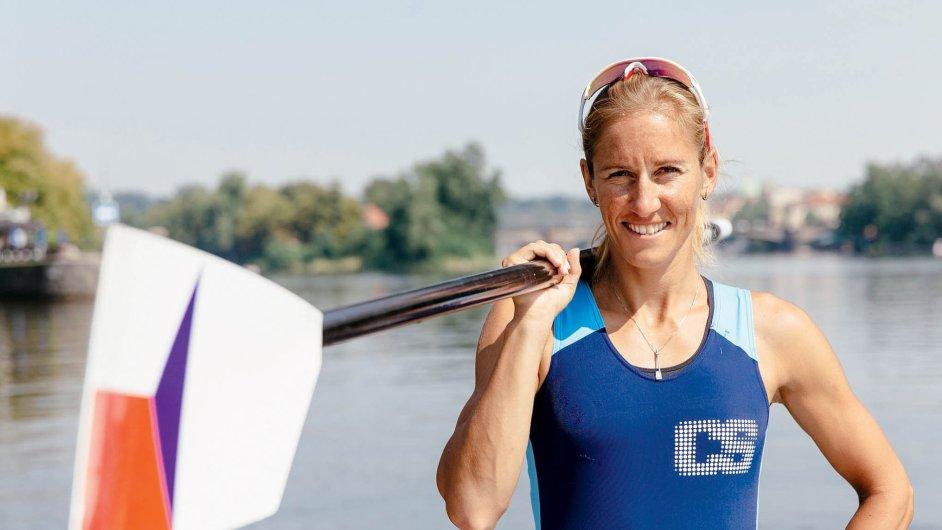 Česká veslařka a olympijská medailistka Mirka Knapková