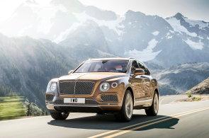 Bentley dostane navzdory skandálu diesel. Poprvé v historii