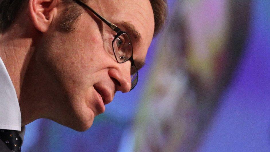 Šéf německé centrální banky Jens Weidmann.
