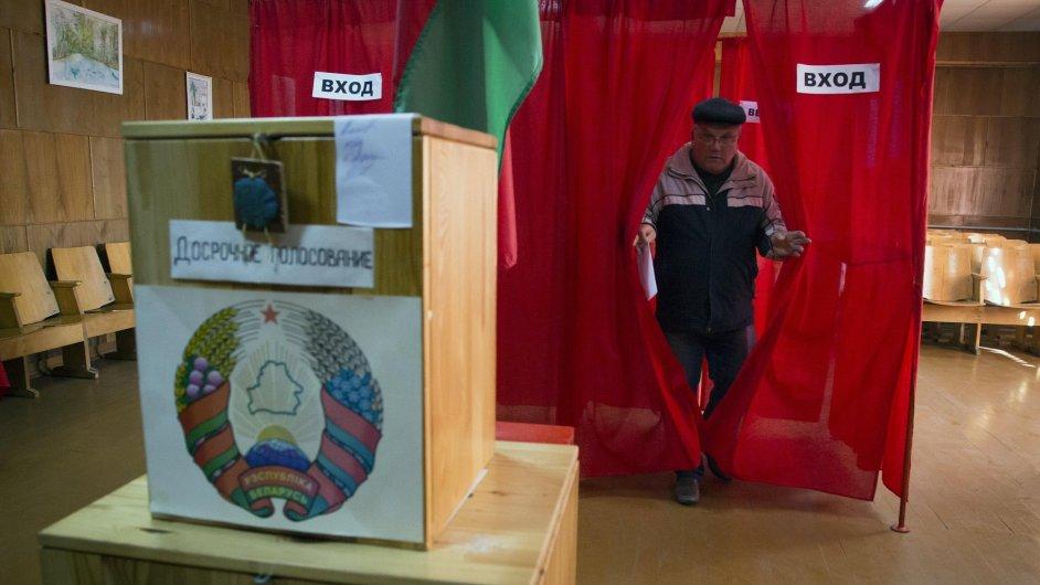 Bělorusko volí prezidenta.