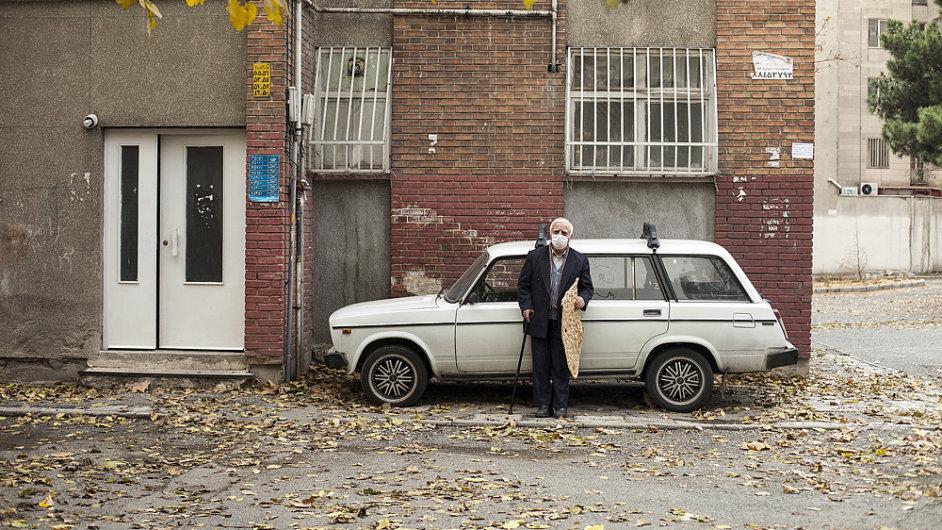 Snímek z česko-íránského titulu Obyčejný člověk.