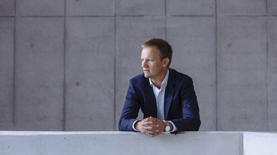 Ředitel Českých Radiokomunikací Martin Gebauer