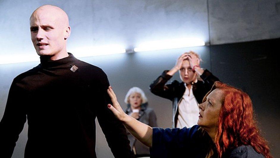 Gogolovo centrum na festivalu Divadlo uvede inscenaci (M)učedník na domácí poměry (na snímku).