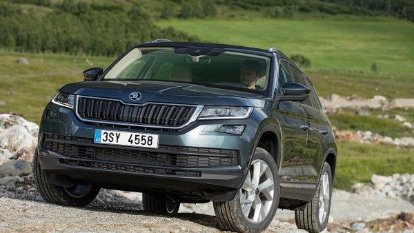 Škoda nedávno představila svůj SUV model Kodiaq.