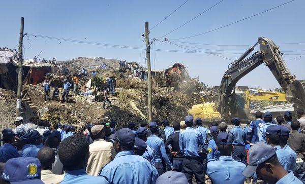 ETIOPIE skládka