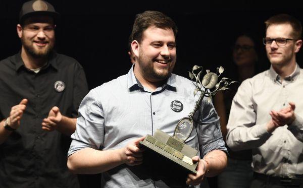 Jan Škeřík se stal 12. března v Praze vítězem národního kola soutěže Barista roku 2017.