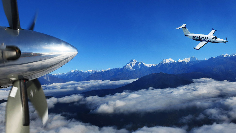 První letadlo, které bude vybaveno turbovrtulovými motory zchystané české továrny GE Aviation, má být menší soukromý stroj Cessna Denali.