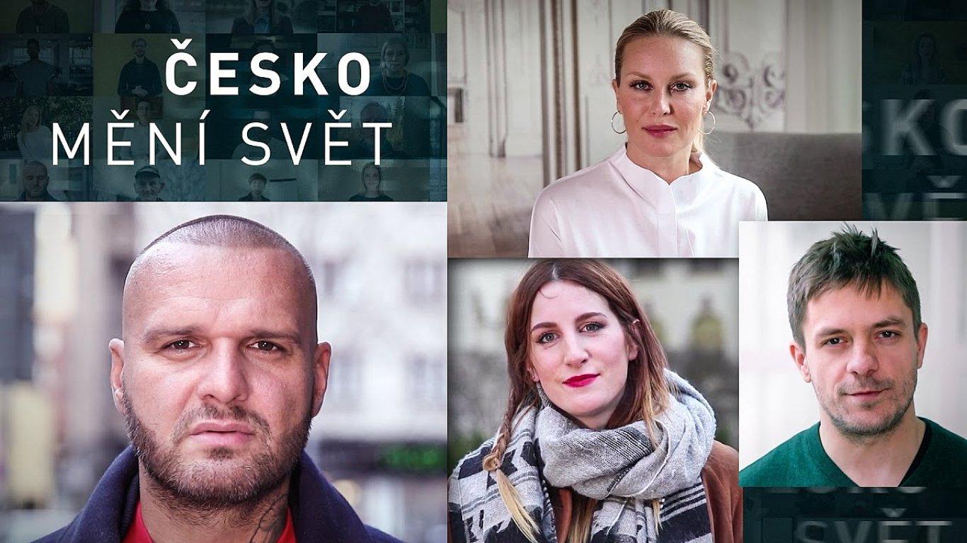 České celebrity propagují ceny pomocí videa