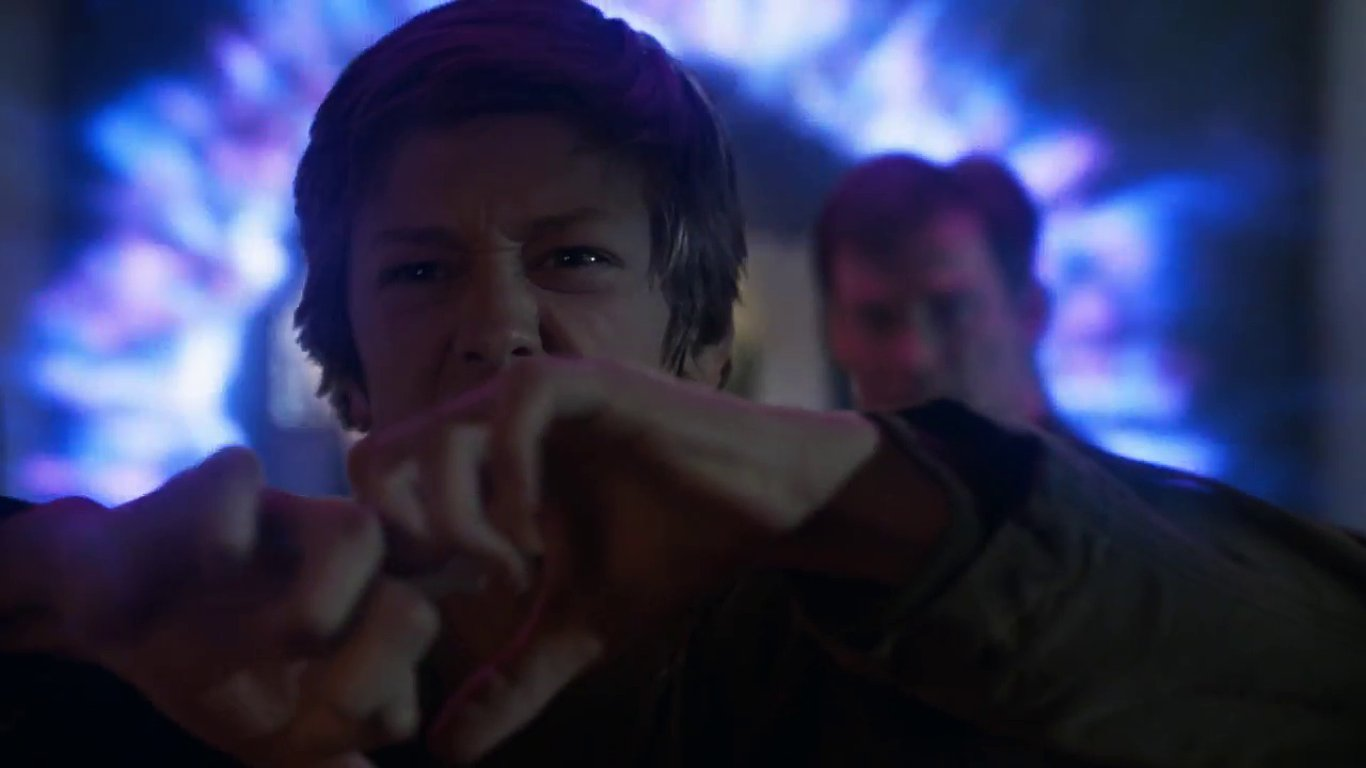 Snímek ze seriálu The Gifted.