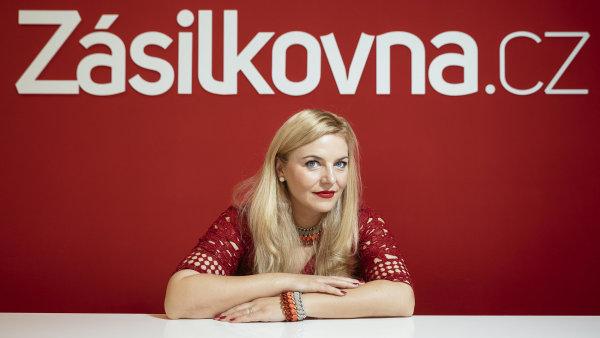 Majitelka Zásilkovny Simona Kijonková.