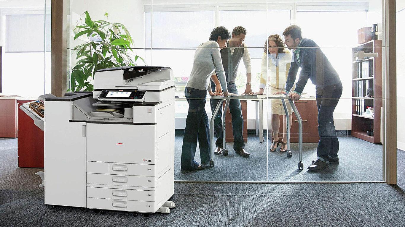 Tisk je součástí digitální transformace (ilustrační foto).