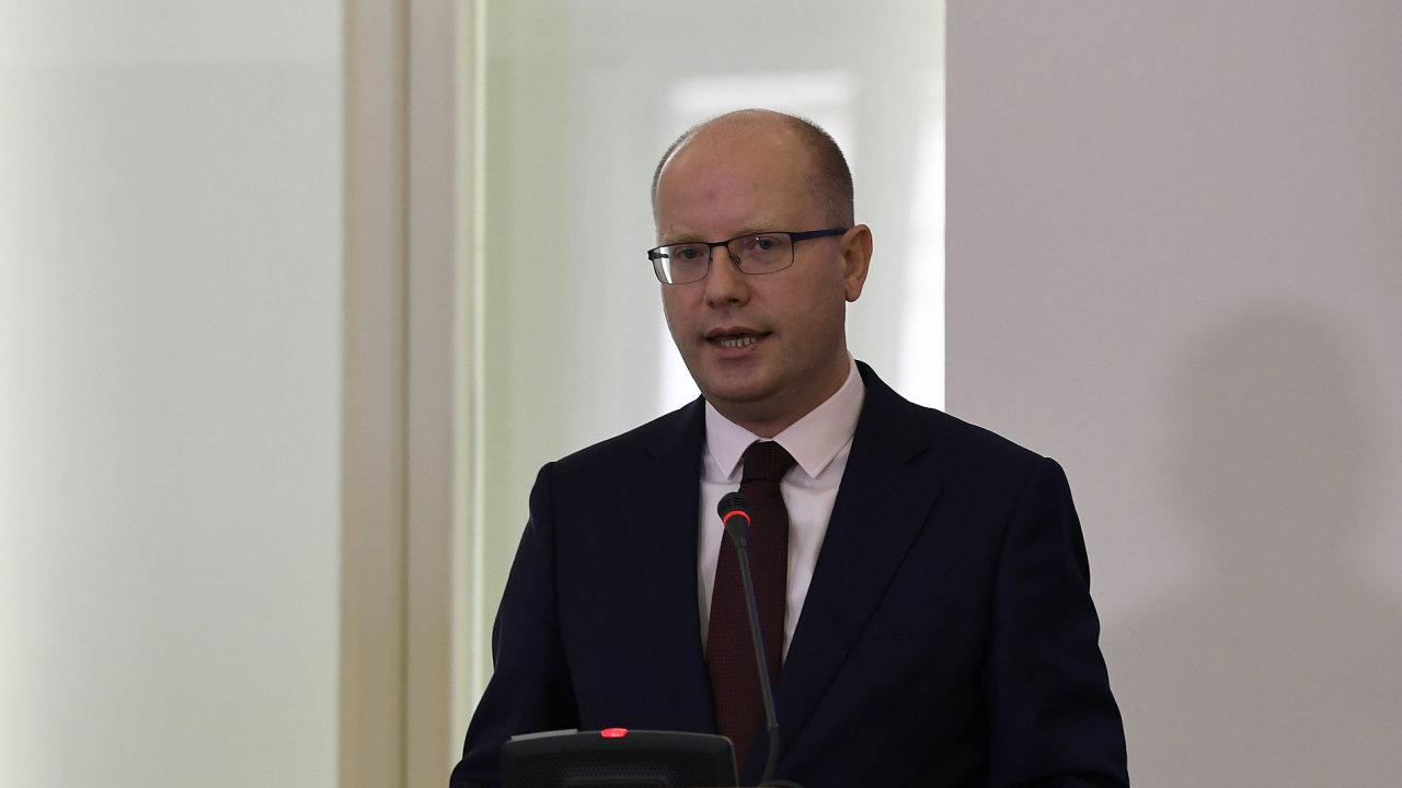 Premiér Bohuslav Sobotka se zúčastnil 28. srpna v Praze porady velvyslanců.