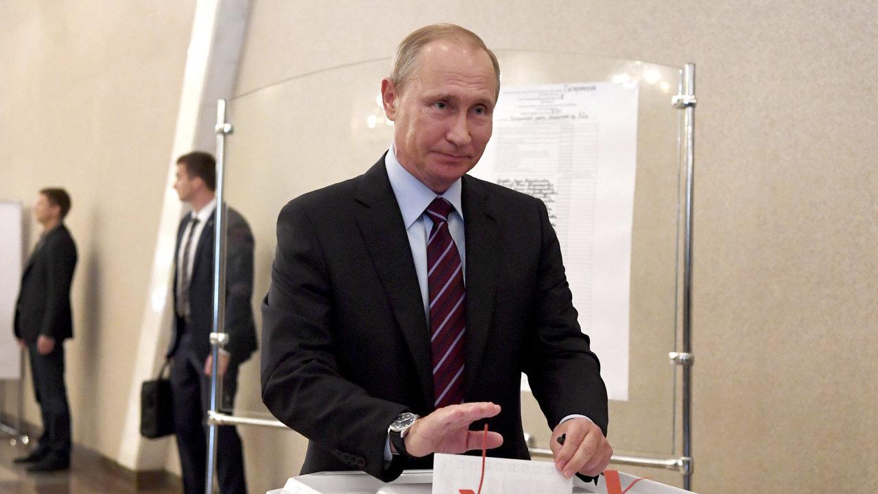 Rusko komunální volby Putin