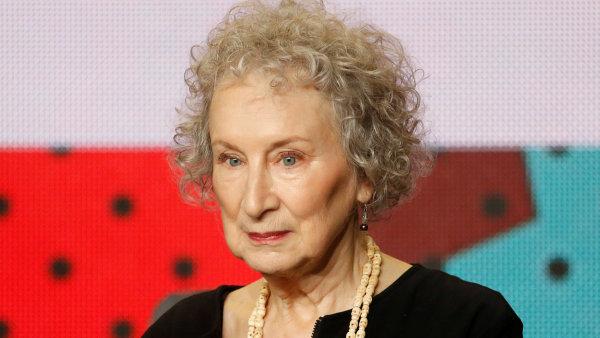 Margaret Atwoodová (na snímku ze září z kanadského Toronta) tento měsíc v Praze převezme Cenu Franze Kafky.