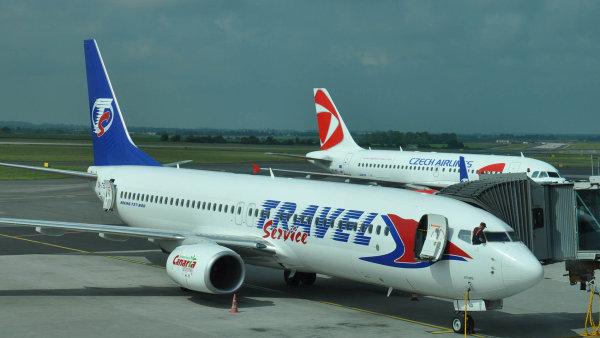 Travel Service si pořídí téměř čtyřicet nových letounů - Ilustrační foto.