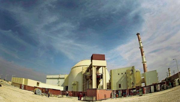Íránská jaderná elektrárna v Bušéru