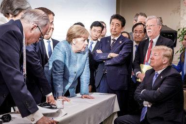 Poslední summit G7 se odehrál v sicilské Taormině.