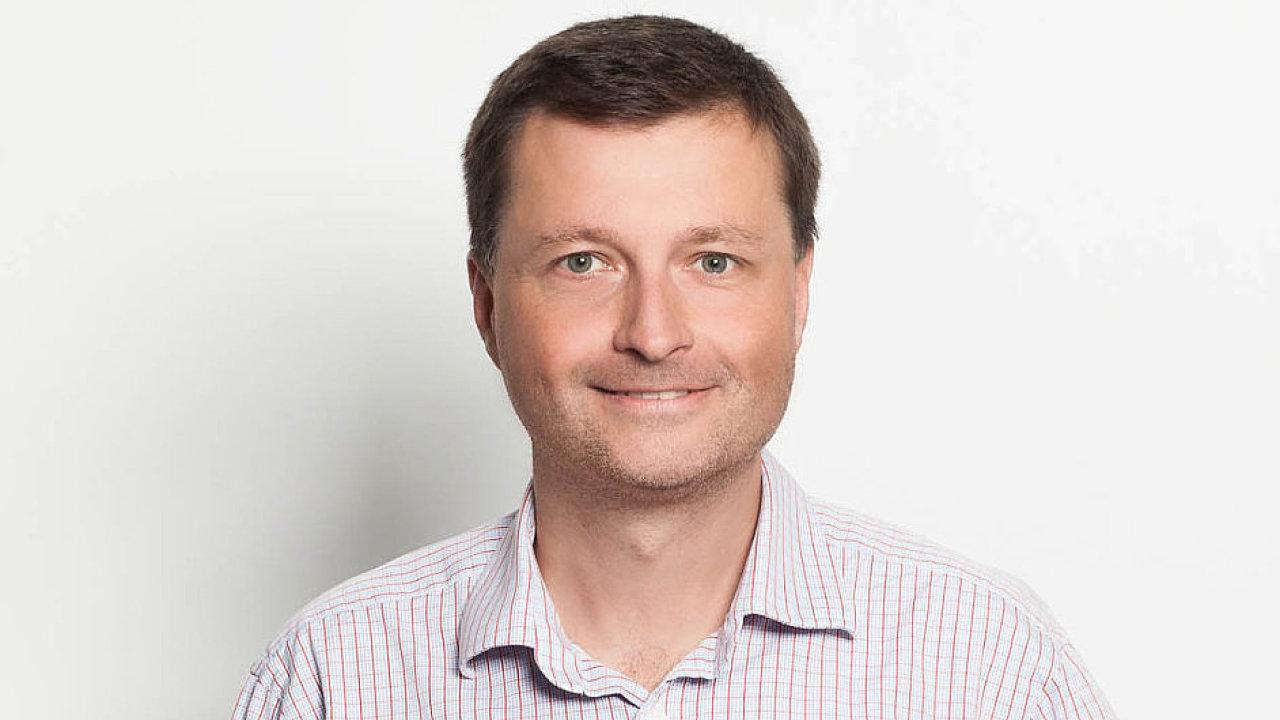 Petr Schrom, ředitel společnosti DŘEVO TRUST