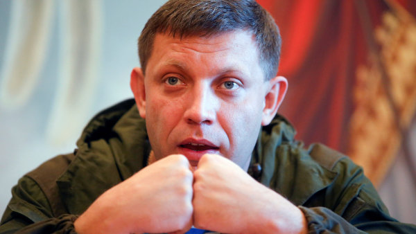 Zesnulý vůdce proruských separatistů Alexandr Zacharčenko.