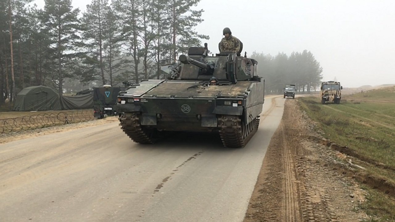Vojenského cvičení Severoatlantické aliance v Litvě se zúčastnily i české jednotky z Žatce