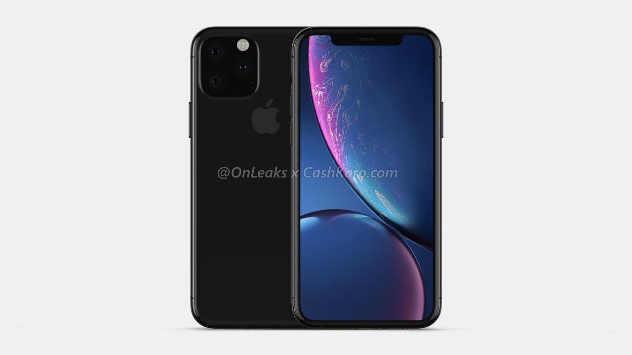 Nový iPhone má mít čtvercový výstupek s fotoaparáty.