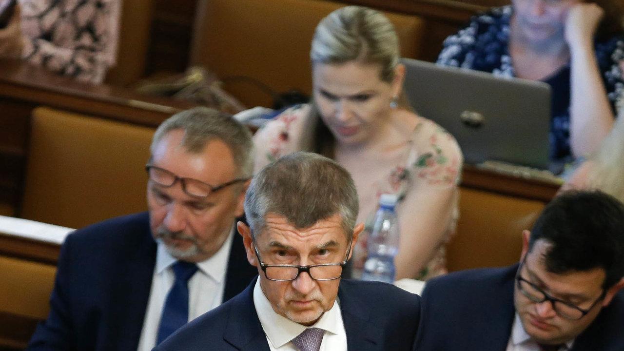 Opoziční strany chtějí sesadit vládu vedenou Andrejem Babišem. Vadí jim předběžný audit Evropské komise, podle něhož má být předseda vlády vestřetu zájmů. Ten to odmítá.