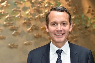 Svěží vítr: Christoph Werner vdm pracuje odroku 2010. Předtím pracoval ufirem L'Oréal aGlaxoSmith-Kline.