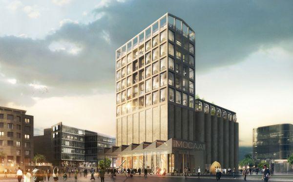 Návrhy muzea Zeitz MOCAA z architektonické dílny Heatherwick Studio.