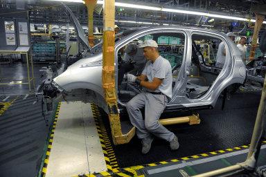 Německé ministerstvo hospodářství informovalo, že zakázky průmyslu v září ve srovnání s předchozím měsícem klesly o 0,6 procenta. Ilustrační foto.
