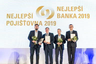 Zleva Jakub Petřina, John Hollows, Jan Sadil a Ján Franek.