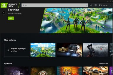 Služba GeForce Now od Nvidie umožňuje hrát i na starých počítačích, stačí stabilní internet.