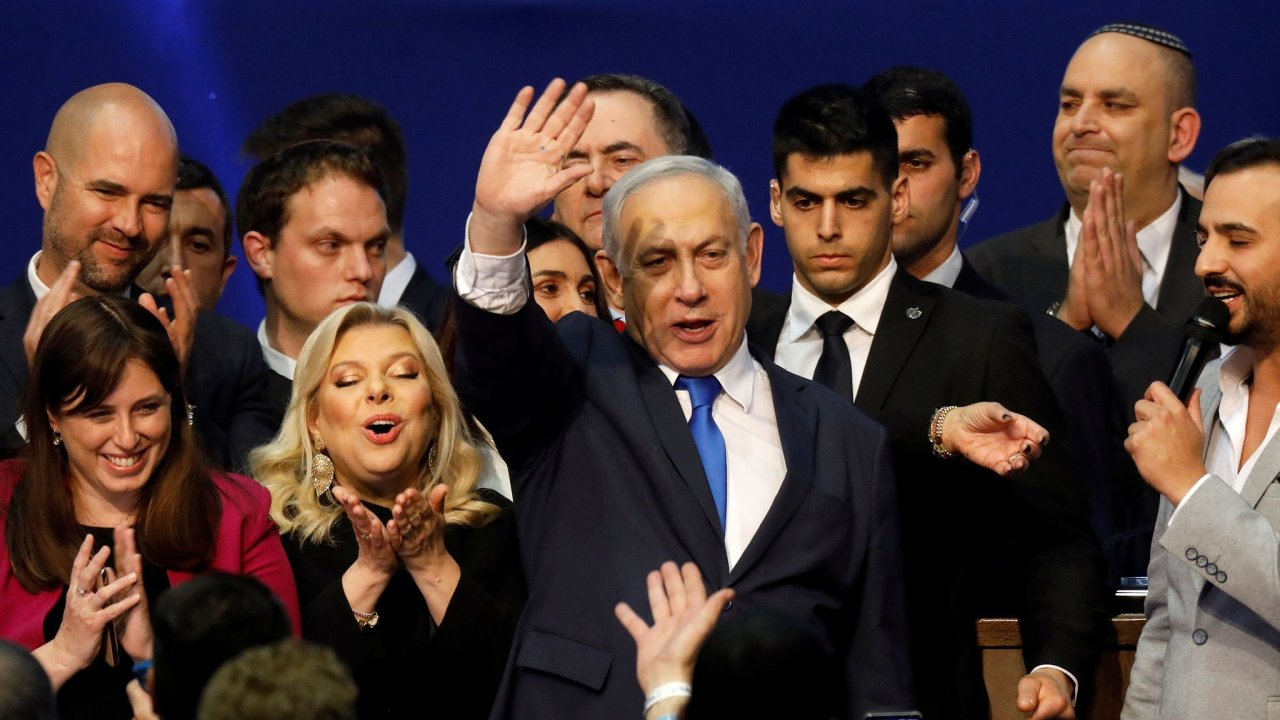 Netanjahu, volby, Izrael