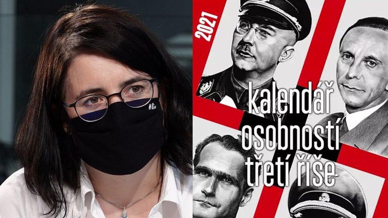 Kalendář s nacisty je nechutný. Je to trestné, jen to nikdo neodstíhal, říká Kalibová