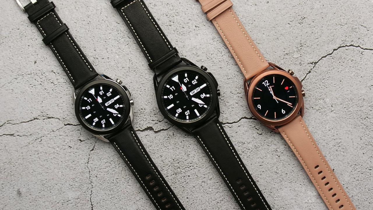 Galaxy Watch 3 mají dvě velikosti, tři barevné varianty a nabídnou i připojení k internetu bez telefonu